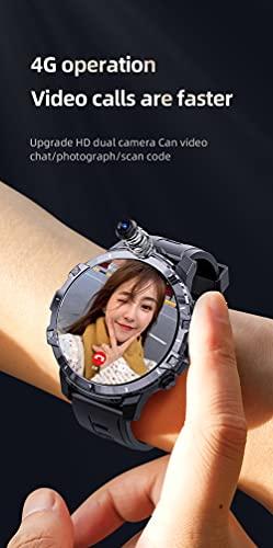 XYZK 2021 Z32 Smart Watch Men's 1.6 Pulgadas Andriod9.0 LTE 4G SIM Wireless 1500mAh Power Bank Dual Cámara Cara ID Impermeable 3G + 32G,D