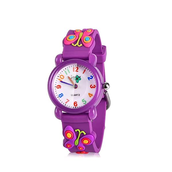 ATIMO 3D Cartoon Waterproof Watches for Girls and Boys – Gifts for Kids