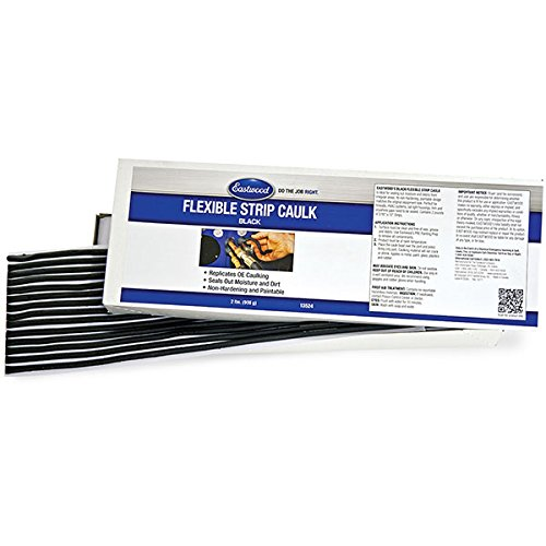 Eastwood 2 Lbs Flexible Strip Caulk Bk Seals-Out Moisture and Debris from Irregular Areas Non-Hardening & Paintable