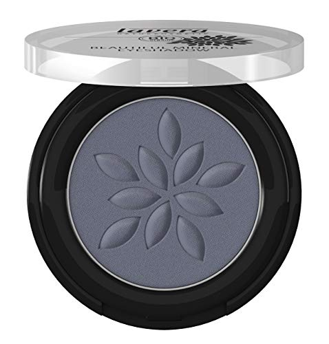 lavera Beautiful Mineral Eyeshadow -Mattn Blue 32- Sombra de ojos ∙ Color intenso y duradero ∙ Coloración de minerales ∙ Cosmética Natural ✔ Bio ✔ Maquillaje Organico 100% Certificado (2 gr)