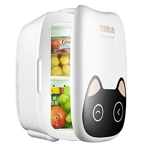 LNDDP Autokühlschrank, 6L Mini Autokühlschrank Kleiner Haushalt Studentenschlafsaal Kühlschrank Kühlschrank Muttermilch lagern