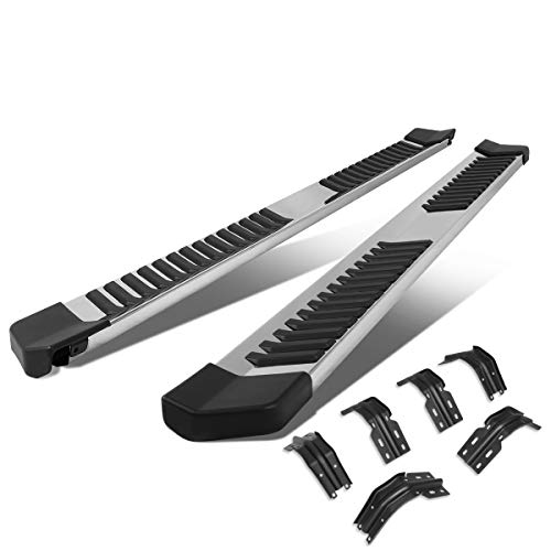 """6"""" Chrome Polished Side Step Nerf Bar Running Board Replacement for Ford F-250 F-350 Super Duty Crew Cab 99-16"""