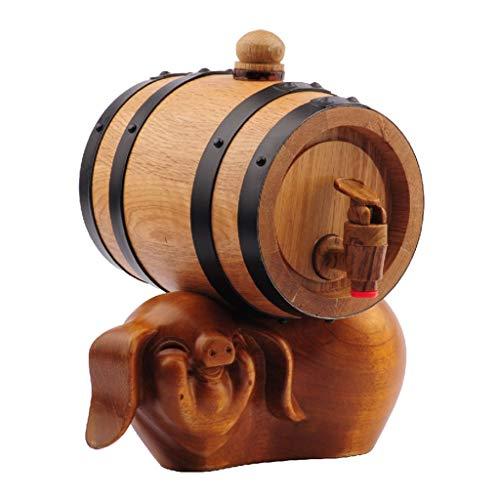 Wijn maken Whiskey Vaten Hete Saus Fles Restauratie Wijncontainer Bar Rum Dispenser Geschikt voor 0.75L
