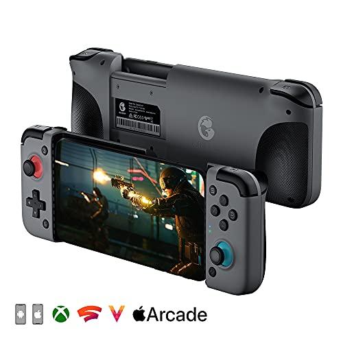 GameSir X2 Bluetoothモバイルゲームコントローラー、AndroidおよびIOS用の電話コントローラー、ワイヤレスモバイルゲームコントローラーグリップサポートXbox Game Pass、xCloud、Stadia、Vortexなど(2021 Bluetoothバージョン)