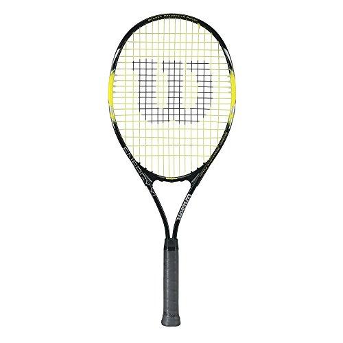 Product Image 1: Wilson Sporting Goods Energy XL Tennis Racquet (EA) , Yellow/Black, 4 3/8″