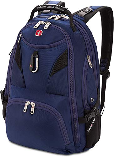 SwissGear 5977 ScanSmart Laptop Backpack - Blue - Large