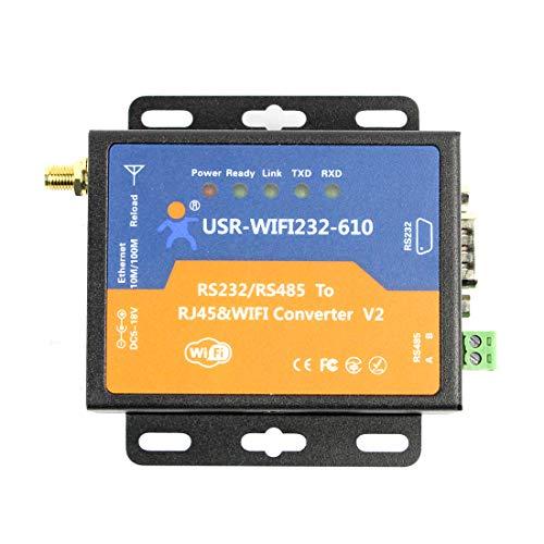 USR Serial RS232 RS485 zu WiFi 802.11 b/g/n und Ethernet Converter (Upgrade der Version von USR-WIFI232-610)