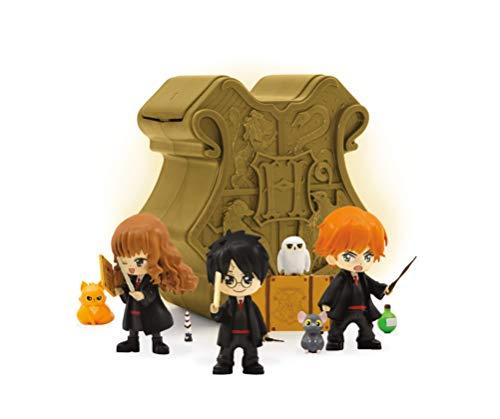 Wizarding World - Harry Potter/Fantastic Beasts 13510 Harry Potter - Cápsulas mágicas con Licencia de coleccionista, Color Bronce