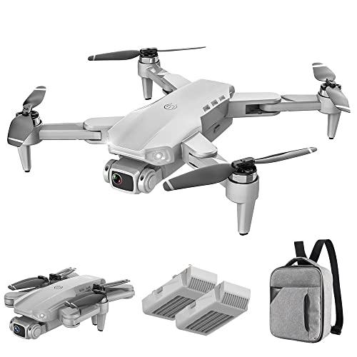 YINHA 4K GPS. Drone con Fotocamera for Adulti, Doppia Fotocamera 5G WiFi FPV. Video dal Vivo Drone, 56 Minuti Tempo di Volo, Ritorno Automatico Seguimi, 500m Range Telecomando (Color : White)