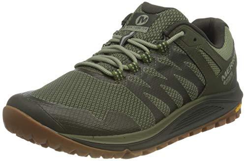 Merrell Nova 2 GTX, Zapatillas para Caminar Hombre, Verde (Lichen), 41.5 EU