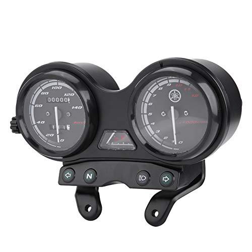 Velocímetro De Motocicleta, Velocímetro De 12000 RPM, Carcasa De Plástico Robusto, Enchufe De 5 Pines + 4 Cables Para YBR 125