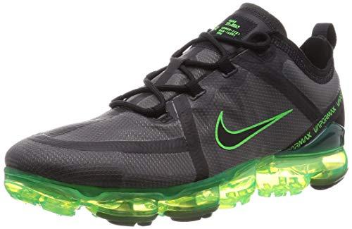 Nike Herren Air Vapormax 2019 Leichtathletikschuhe, Mehrfarbig (Black/Black/Scream Green/Electric Green 011), 42.5 EU