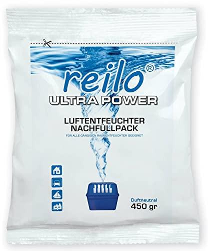 12x 450g Ultrapower Luftentfeuchter Raumentfeuchter Granulat (Calciumchlorid) im Vliesbeutel, Nachfüllpack
