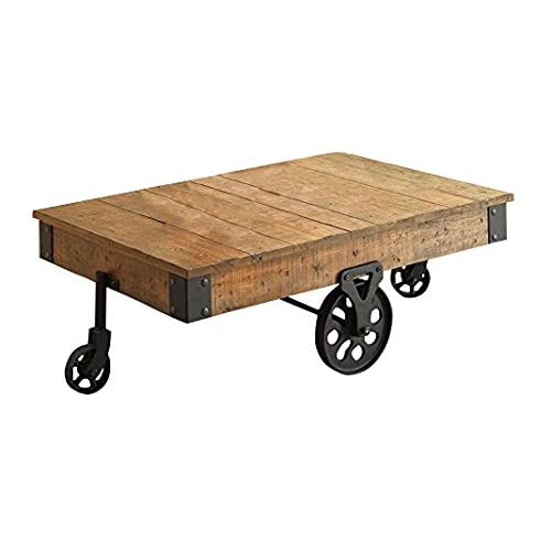 Factory Cart Coffee Table Amazon Com