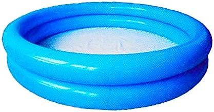 Inflatable 2 Ring Kiddie Pool 2 Ring, Blue