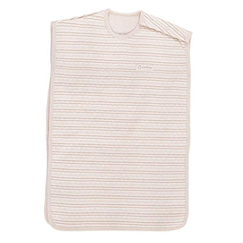 LZL Wickeln Sommer-Baby-Schlafsack Dünne Farbe Cotton Indoor Outdoor kühlem Wetter Verwenden Neugeborene Kinder Weste Slumber Taschen Wickeldecken (Color : Color Cotton Vest, Größe : Medium)