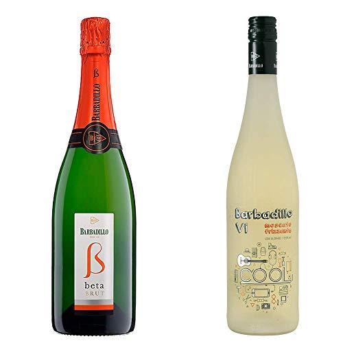 Beta Brut y Barbadillo VI - Vino Blanco - Bodegas Barbadillo - 2 botellas de 750 ml