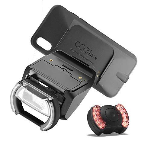 CobiBike Plus mit Universal oder iPhone Mount für eBikes mit Bosch-Antrieb + Pannenspray (Halterung iPhone X, XS)