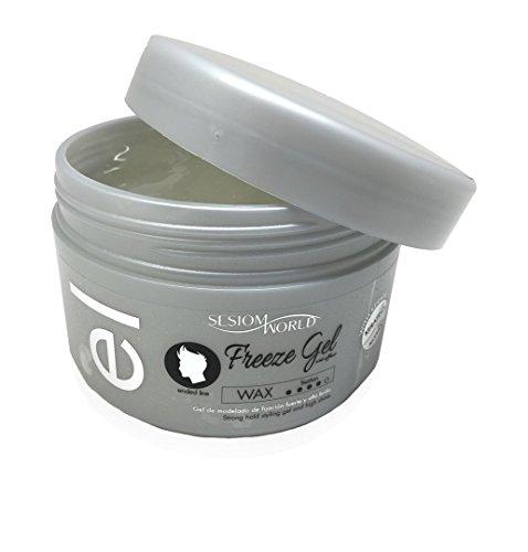 sesioMWorld Gel de Modelado Profesional Efecto Mojado Freeze Gel 500 ml, 1 Unidad. 520 g