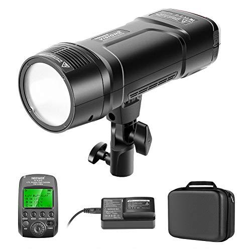 Neewer VISION2 200Ws 2,4G TTL Flash Estroboscópico Compatible con Cámaras Nikon DSLR 1/8000 HSS Monolight Bolsillo Disparador Inalámbrico 2900mAh Batería para Cubrir 500 Disparos de Potencia Completa