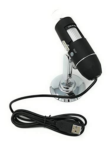 tempo di saldi Microscopio Portatile Digitale 1000X Endoscopio Con Cavo Usb Camera 8 Led Pc