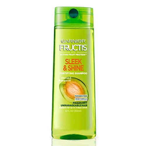 Garnier Fructis Sleek amp Shine Shampoo for Frizzy Hair 125 Ounce