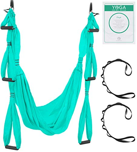 Find Cheap Aerial Yoga Swing - Ultra Strong Antigravity Yoga Hammock/Trapeze/Sling for Air Yoga Inve...