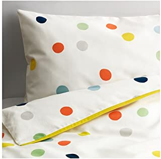 IKEA Crib Bedding DROMLAND Duvet Cover Set Includes One Duvet Cover and One Pillow Case