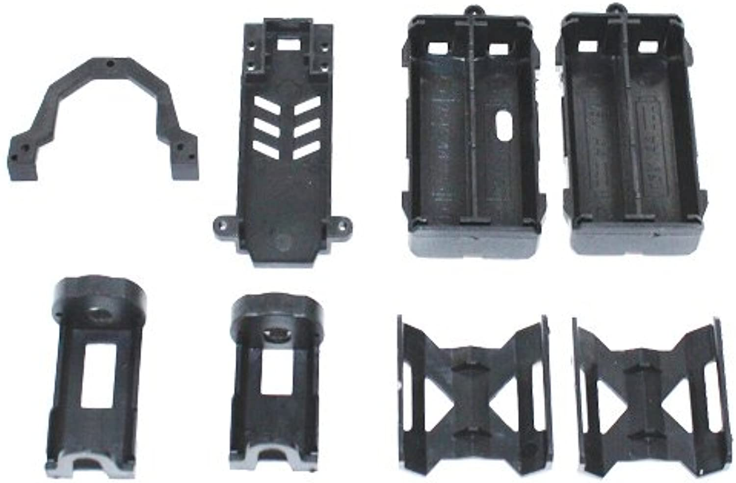 Redcat Racing Battery Compartment Assembly, PCB Plate, PCB Mount and Upper Deck for Sumo RC