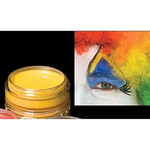 Cinema Secrets CC042C - Jaune Maquillage Cr-me - .125 Oz - Carded