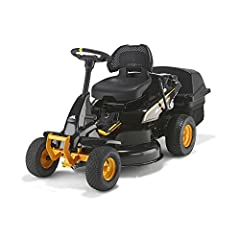McCulloch sätet gräsklippare gräsmatta traktor m 105-77XC gräsklippare hjul drev mullkniv, start, elektrisk: 5800 W, skärlängd 77 cm