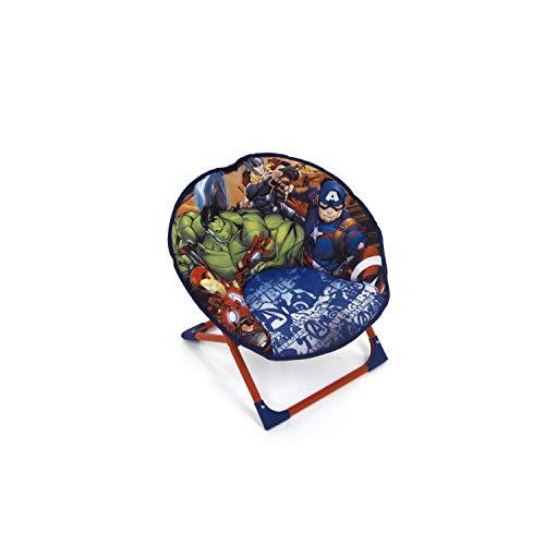 Familie24 Kindersessel gepolstert Auswahl klappbar Sessel Fernsehsessel Faltsessel Kindermöbel Spiderman Avengers (Avengers)