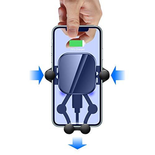 YXY-Tech Handyhalterung Halter Auto Handyhalter - 4.7-6.5 Zoll Universal Autohalterung Lüftung Lüftungsschlitz Belüftung KFZ Phone Halterung Handy Halter für iPhone Samsung Huawei Smartphones