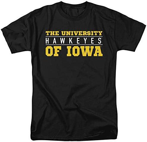 University of Iowa Official Unisex Adult T Shirt...