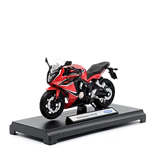 El Maquetas Coche Motocross Fantastico para Honda 2018 CBR650F Aleación Street Sport Fundición A Presión Motocicleta Modelo Colección Regalo Juguete Coche 1:18 Regalos Juegos Mas Vendidos