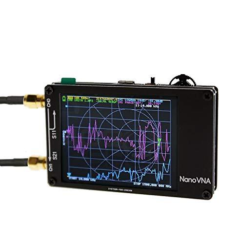 Mcbazel Surecom NanoVNA-H 50KHz~1.5GHz VNA 2.8inch LCD HF VHF UHF UV Vector Network Analyzer