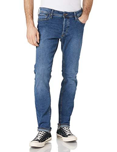 Jack & Jones JJIGLENN Jjoriginal NA 033 Jeans, Bleu Denim, 33W x 32L Homme