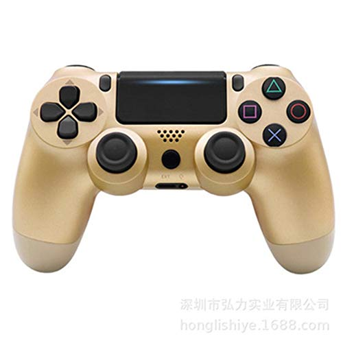 ZZS Drahtloser Gamecontroller, Ps4 Controller Wireless Controller Bluetooth 4.0 Dual Impact Handle Joystick Mando Spielbrett Für Ps4 Ps3 Dual Impact Control Fenster