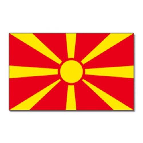 Fahne Flaggen MAZEDONIEN NEU 150x90cm
