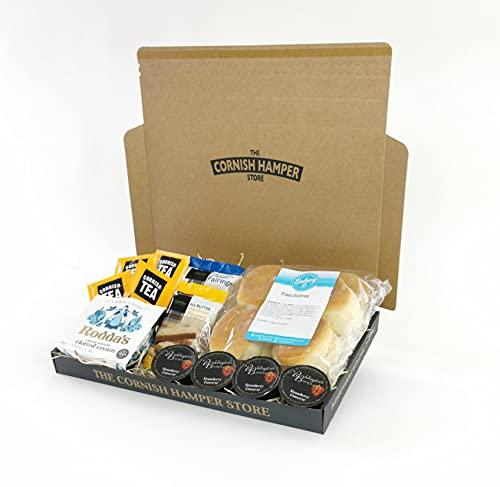 Postal Hampers - Cornish Cream Tea Hamper