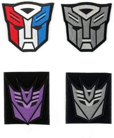 Optimus Prime Transformer Super Hero Embroidered Iron on Sew on PatchBadge