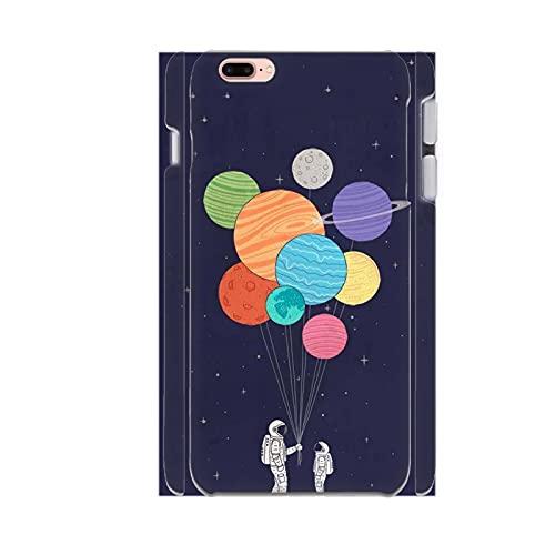 Mujer Compatible con Apple iPhone 5/5S Se con Sports Astronaut Carcasa De Plástico Único