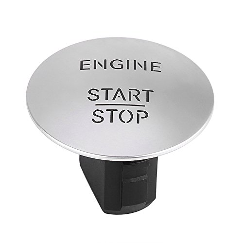 Qiilu Start Stopp Druckknopf Motor Zündschalter Keyless Go Startknopf Motor Zündschalter