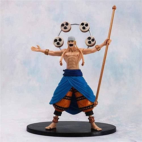 Anime Cadeaux One Piece Statue Enel Empty Island Thunder Sound Thunder Fruit PVC Action Figure Collection Modèle Jouets B20-Multicolor