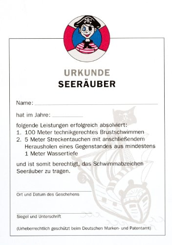 Grevinga® Seeräuber Urkunde