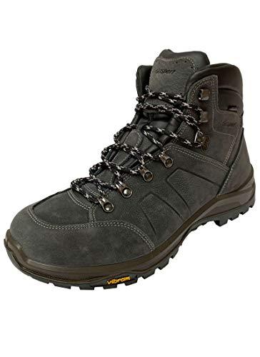 Grisport Botas de senderismo Hiking Evo High, para mujer, hombre, de trekking y senderismo, impermeables, de media altura, color Azul, talla 37 EU