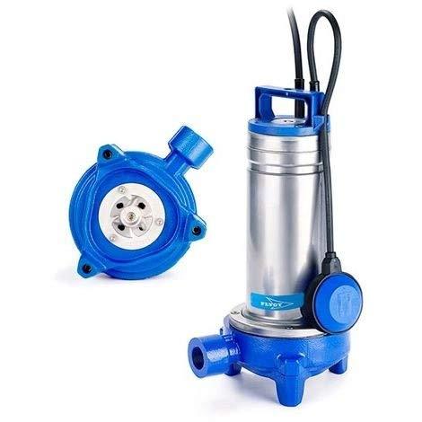 Flygt Delinox DXGM2511 Schmutzwasserpumpe 1,1 kW mit Mahlwerk bis zu 7 m³/h, einphasig, 220 V