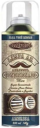 Limpa Ar Condicionado Centralsul Men America 200 Ml com Válvula Granada