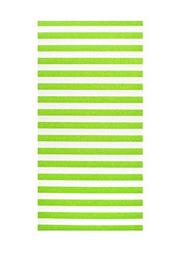 LockerLookz Locker Wallpaper - Green Stripe - 24 pieces