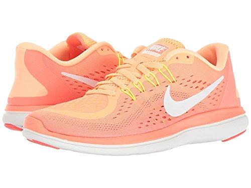 Nike Women's Flex 2017 RN Running Shoe Orange (6)